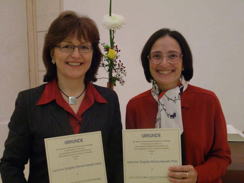 Prof. Dr. Christl M. Maier und Prof. Dr. Nuria Calduch-Benages
